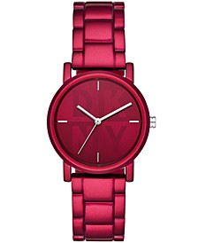 Women's Soho Red Bracelet Watch 34mm