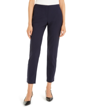 Elie Tahari Pants JILLIAN SLIM CROPPED PANTS