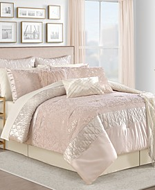 Ava 14-Pc. King Comforter Set