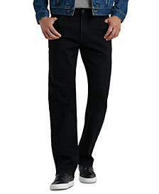 Men's 363 Vintage-Inspired Straight Black Jeans