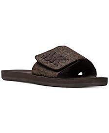 MK Pool Slide Sandals