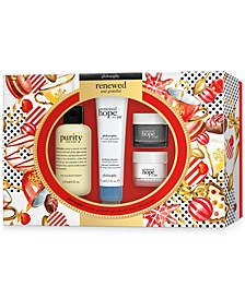 4-Pc. Renewed & Grateful Gift Set