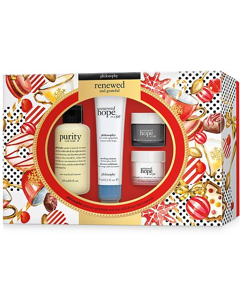 philosophy 4-Pc. Renewed & Grateful Gift Set