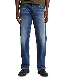 Silver Jeans Co. Men's Zac Straight-Fit Jeans