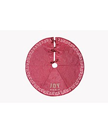 "Joy To The World Christmas Tree Skirt, 56"" Round"