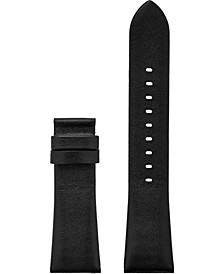 Access Bradshaw 2 Black Leather Smart Watch Strap