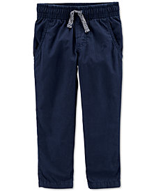 Carter's Toddler Boys Pull-On Poplin Pants