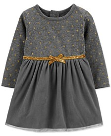 Baby Girls Glitter Dot Dress