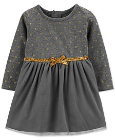 Carter's Baby Girls Glitter Dot Dress