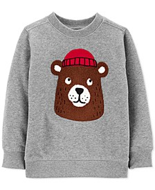 Baby Boys Bear Fleece Sweatshirt