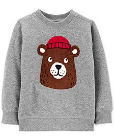 Carter's Baby Boys Bear Fleece Sweatshirt