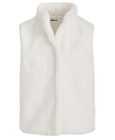 Big Girls Solid Faux-Fur Vest, Created For Macy's
