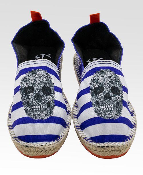 String Republic Captain Skull Men's Espadrilles
