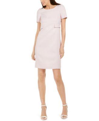 Anna Field Petite Casual Wear Women/'s Shift Dresses Off White//Black