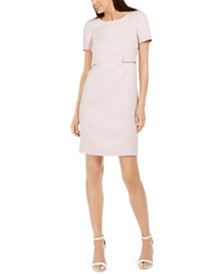 Anne Klein Twill Shift Dress