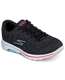 Women's GOWalk 5 Outshine Walking Sneakers from Finish Line