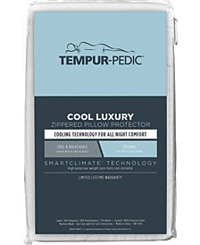 Cool Luxury Zippered Pillow Protector, Standard/Queen