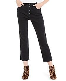 Authentic Straight-Leg Capri Jeans