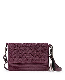 Emilie Flap Crochet Crossbody