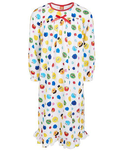 AME Isaac Mizrahi Loves SesStreet Toddler, Little & Big Girls Nightgown