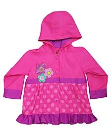 Little Girl's Printed Rain Coats