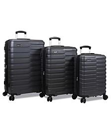 Cortex Lightweight 3-Piece Hardside Spinner Luggage Set
