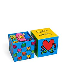Keith Haring 3 Pack Sock