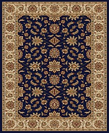 "CLOSEOUT! 1592/1081/NAVY Pesaro Blue 5'5"" x 7'7"" Area Rug"