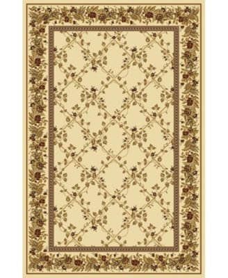 """CLOSEOUT! 1427/1711/IVORY Navelli Ivory 5'5"""" x 8'3"""" Area Rug"""