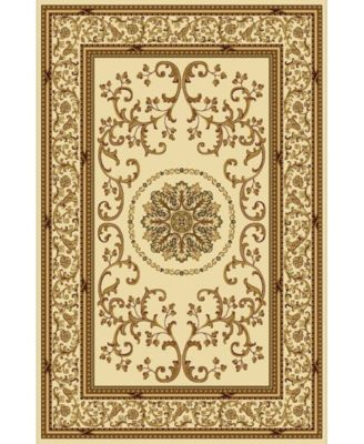 """CLOSEOUT! 1419/1311/IVORY Navelli Ivory 5'5"""" x 8'3"""" Area Rug"""