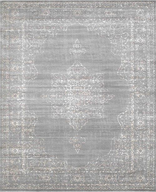 """KM Home CLOSEOUT! 3563/0030/Gray Cantu Gray 3'3"""" x 4'11"""" Area Rug"""