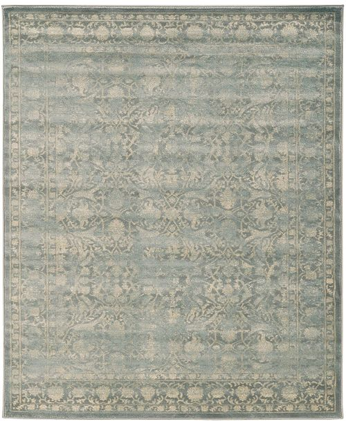 """KM Home CLOSEOUT! 3564/0030/Gray Cantu Gray 3'3"""" x 4'11"""" Area Rug"""