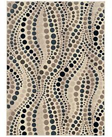 "CLOSEOUT! 3795/1000/BONE Imperia Ivory/ Cream 3'3"" x 4'11"" Area Rug"