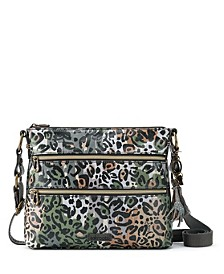 Coated Canvas Crossbody