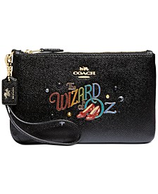 Wizard Of Oz Leather Wristlet