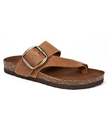 White Mountain Harley Footbed Sandals