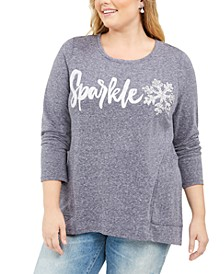 Plus Size Whimsy Sweatshirt, Created For Macy's
