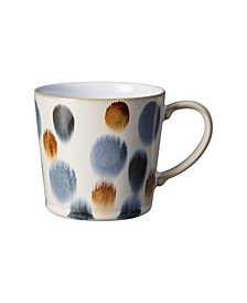 Brown Spot Painted Large Mug