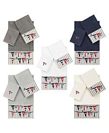 100% Turkish Cotton Ethan Embellished Towels