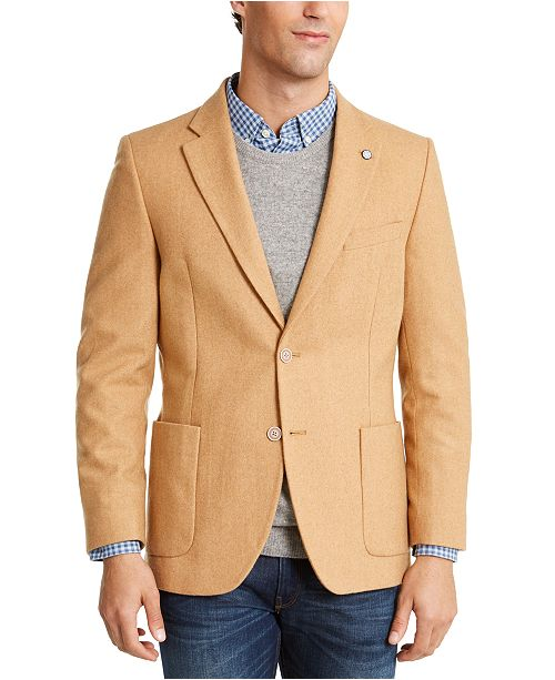 Nautica Men's Modern-Ft Solid Sport Coat