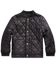 Little Boys Quilted Water-Repellent Jacket