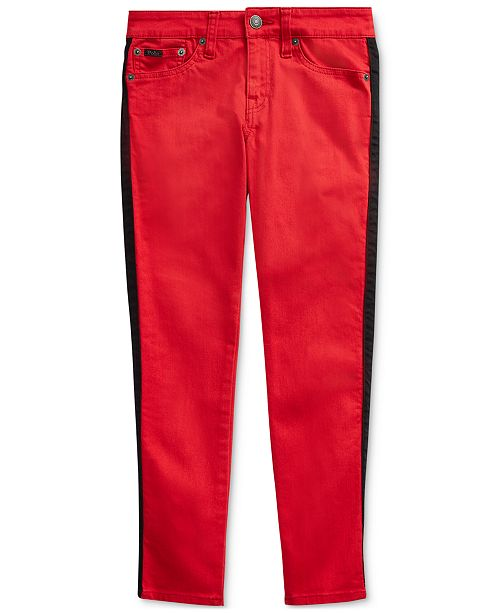 Polo Ralph Lauren Big Girls Tompkins Stretch Skinny Jeans