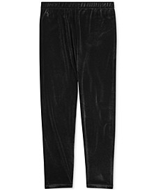 Big Girls Stretch Velvet Legging