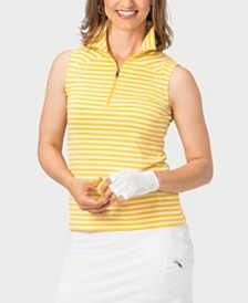 Nancy Lopez Flight Sleeveless Polo Plus