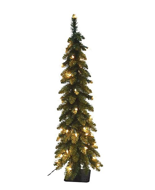 Santa's Workshop 5' Pencil Slim Tree with 105 UL Lights