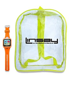 "1.5"" Kids Smart Watch Cam Selfie with Bag Pack"