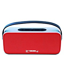 New High End Portable Wireless Bluetooth Speaker with Microphone Rechargeable