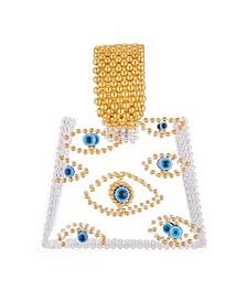 Evil Eye Acrylic Beaded Bag