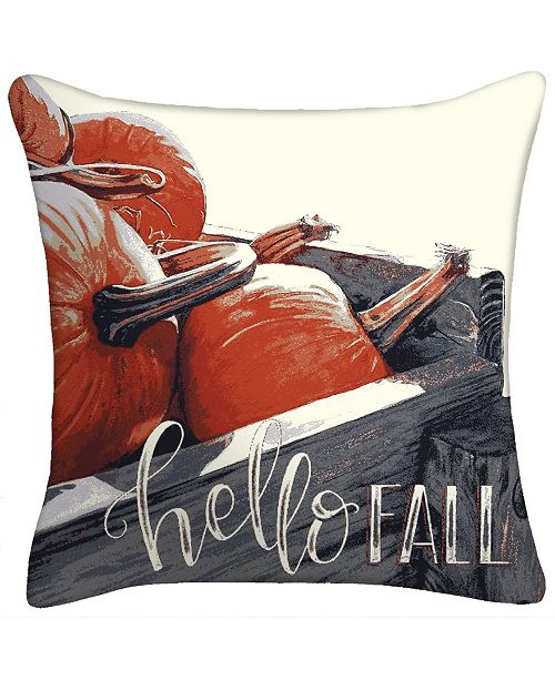 Jordan Manufacturing Hello Fall Toss Pillow