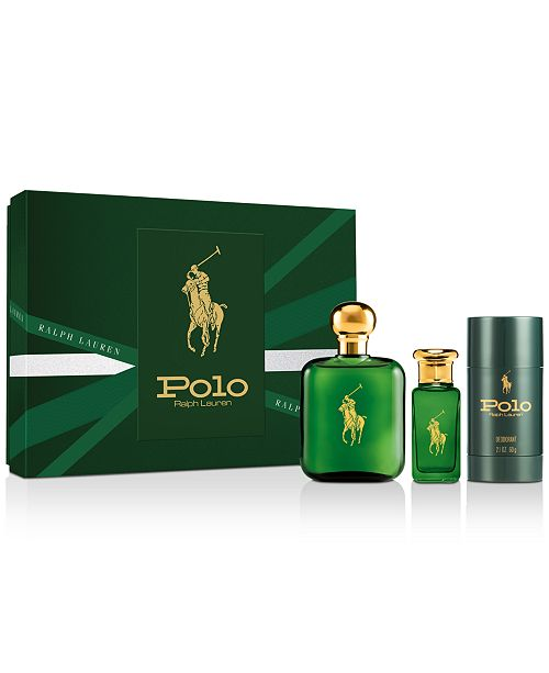 Ralph Lauren Men's 3-Pc. Polo Eau de Toilette Gift Set